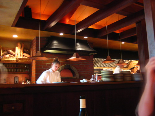 the kitchen at chez panisse cafe.