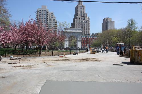 Memorial Arch in Washington Square Park