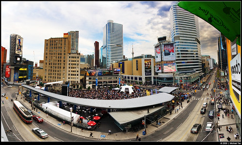 Yonge-Dundas Square (by Tanner.)