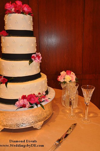 Wedding Cake from the front
