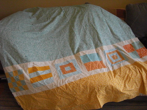Quilt Back Pre-pressing