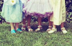 Friends from the start. (Ashley Goodwin) Tags: birthday girls friends kids spring dressup teaparty