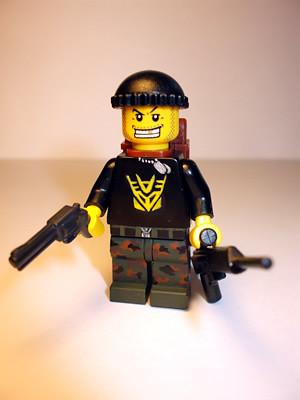 Sniper custom minifig