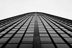 Tour Montparnasse Landscape (eMergent) Tags: blackandwhite bw white black paris france building tower architecture skyscraper europe tour montparnasse