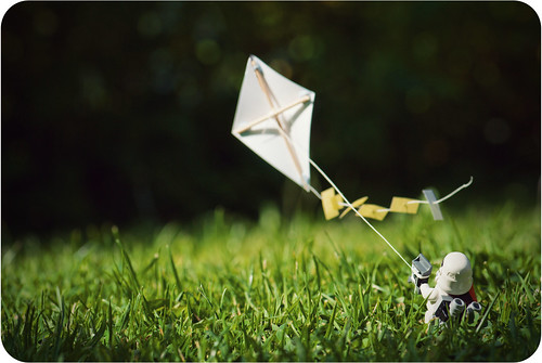 Everyone loves kites