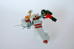 "Cave Racer vs.01 ""The grey Ruaka"" (Chiefrocker9000) Tags: lego space scifi racer glug moc legospace caveracer scilug swisslug"