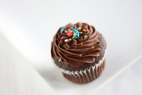 Vegan Chocolate Chocolate Cupcake from Cakewalk Baking Company (Bountiful, Utah)