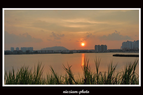 Sunset at Taman Tasik Prima Puchong