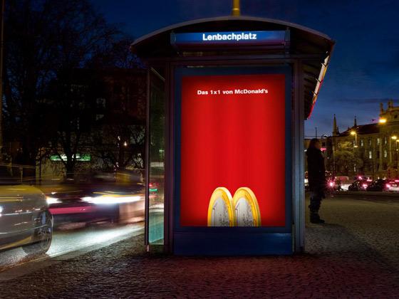 publicidad de McDonald