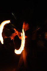 Fire Painting (Tedem) Tags: fire poi firejuggling devilstick firepoi firepainting streetdelivery2009