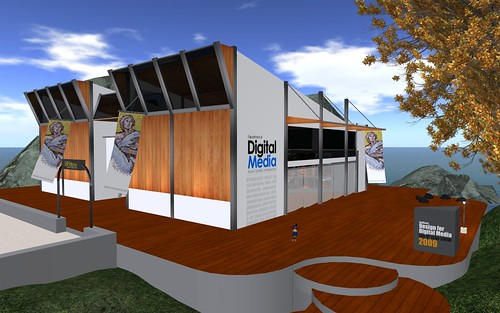 Design for Digital Media - End of Year Show in SL