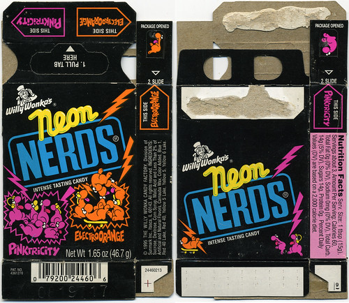 Just posted my Neon Nerds box from 1995: