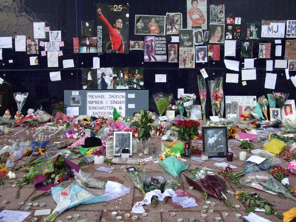 Michael Jackson Dome memorial