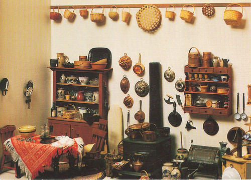 Tasha Tudor's Dollhouse Kitchen