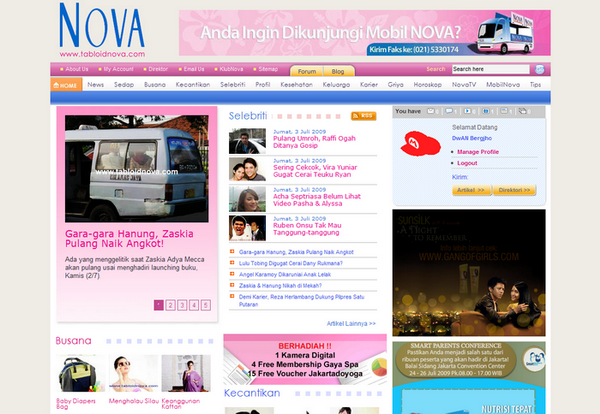 Tabloid Nova Home