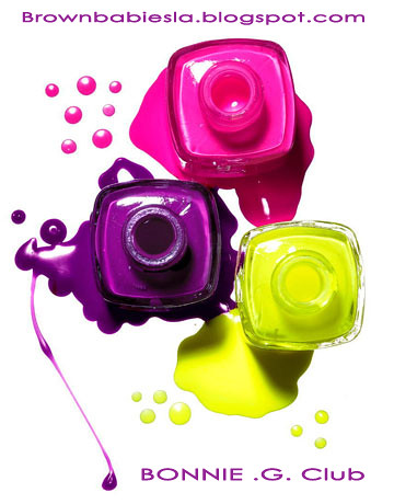 bright nail polish colors. Bright Nail Polish Ad Banner