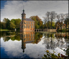 reflection (holland fotograaf [on/off]) Tags: winter holland castles netherlands breda reflexions brabant lowsun canon1022mm abigfave anawesomeshot theunforgettablepictures canon40d great123 paintersjob