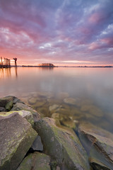 Columbia River (Jesse Estes) Tags: sunset clouds columbiariver jesseestesphotography