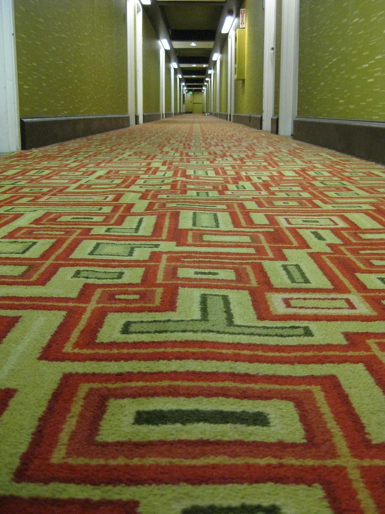204/365: Hotel carpet