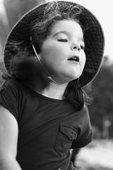 Vintage starlette (Jean Lemoine) Tags: summer portrait bw girl dance raw exterior candid daughter sigma danse nb bn louise t 70300mm lman enfant fille dpp mouvement 450d