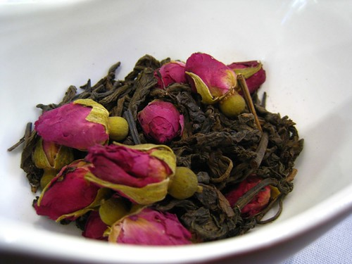 Rose Pu Er Tea