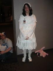 Shiro Lolita (blueZhift) Tags: anime costume cosplay michigan manga convention 2009 dearborn crossplay youmacon brolita