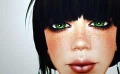 freckles 'n'  fringe (Janice Jupiter) Tags: portrait sexy fashion digital photoshop blog 3d clothing avatar linden style clothes sl secondlife virtual blogging cs4 cs5 janicejupiter jupiterville jupitervillestylecom