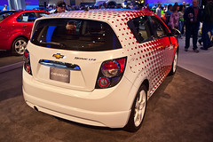 Chevy Sonic LTZ Rear View