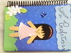 caderno decorado (lollyart) Tags: eva biscuit infantil casamento enfeites festas maternidade lembrancinhas
