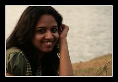 an infectious smile (Archana Ramaswamy) Tags: portrait lake girl friend kerala nosering ramaswamy archana sushma thattekad dementa archanaramaswamy
