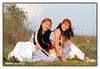 "Lisu Sisters. (Arif Siddiqui) Tags: costumes girls people india colors beauty fashion festival portraits glamour colorful traditional models tribal east hills dresses tribes local miao ethnic northeast cultures arif arunachal dances lisu namdapha tribals siddiqui lisaw india"" jairampur ""north attires pradesh"" ""arunachal"
