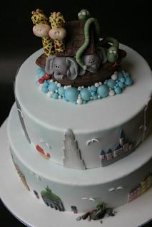 Noah's farewell cake