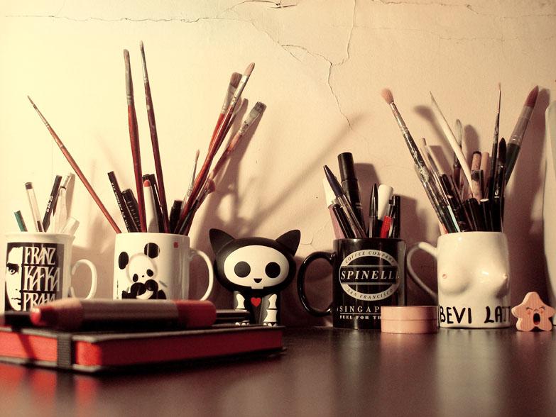 Pretty Things - Zo mag mijn bureau er ook uitzien
