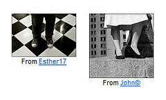 Coincidence (O Caritas) Tags: john flickr legs esther coincidence john esther17