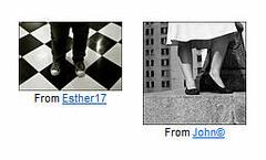 Coincidence (O Caritas) Tags: john flickr legs esther coincidence john© esther17