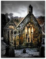 Welcome to the Kirk (church) at Temple, the Knights of Templar strolled through here:) (ClanUrbex) Tags: history abandoned church graveyard temple scotland decay haunting decayed kirk blueribbon knightsoftemplar kylie6470 clanurbex veraniquedron