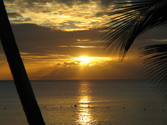 Beach Sunset (photon_de) Tags: sunset caribbeansea mywinners