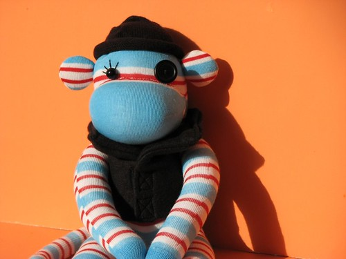 A Clockwork Orange Inspired Monkey