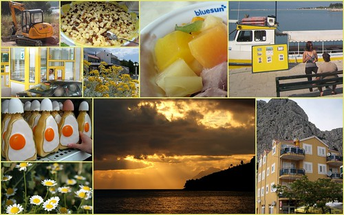 Yellow Croatia -collage
