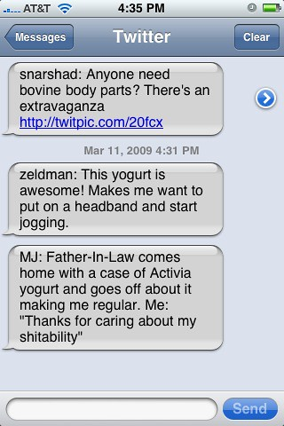 iPhone SMS Gone Bad