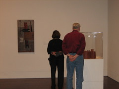 Mike and Liz appreciating fine art
