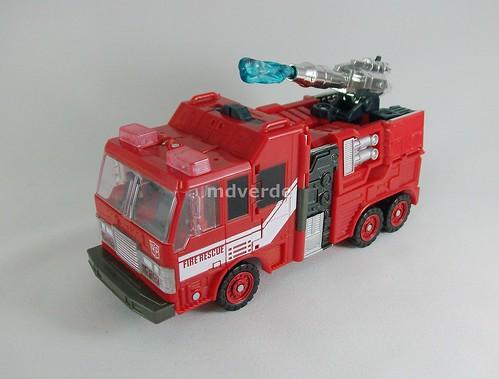Transformers Inferno Classics Henkei - modo alterno