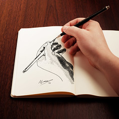 The drawing hand 2