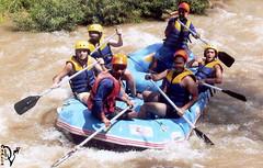 rafting  trip-4 (divingoff) Tags: trees men river thailand island rocks asia east rafting phuket 2007
