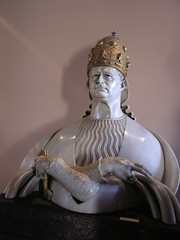 Bust of a Pope at the Vatican Museum