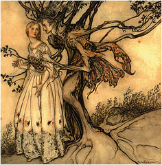 Free To Share (Suzee Que) Tags: vintage ephemera arthurrackham freetoshare