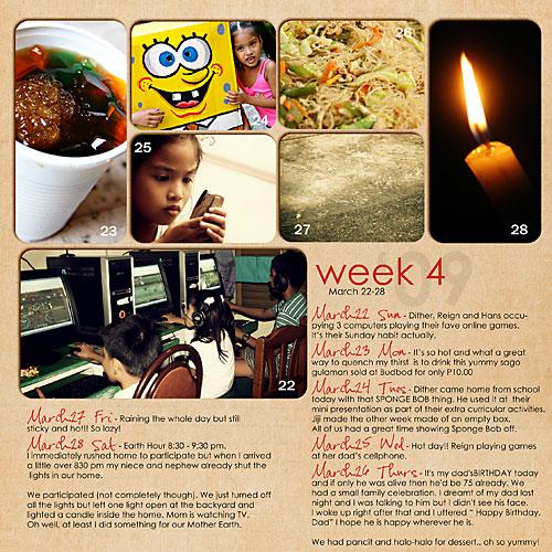 March: Week 4