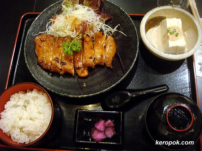 Teriyaki Chicken set