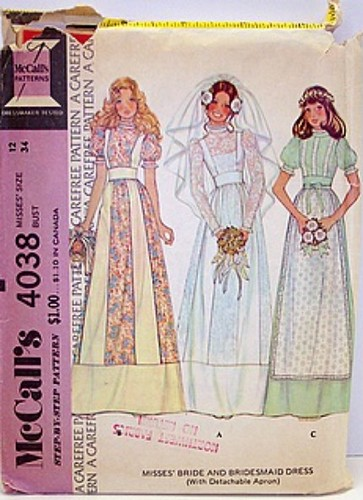 prom dress patterns. Prom Dress with Apron