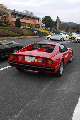 Ferrari 308GTS in Tsukuba Japan [Apr. 04. 2009]